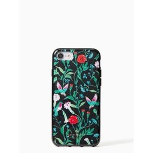 NWT⭐️ KATE SPADE Jeweled Jardin Case for iPhone7&8
